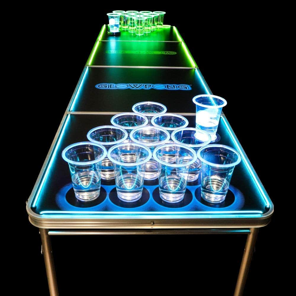 Glowing Beer Pong Table 1