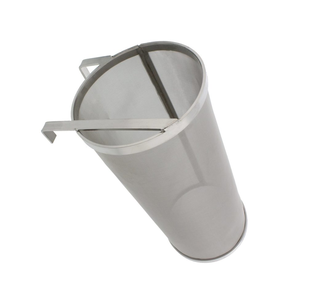Brewing 6x14in Hopper Spider Strainer